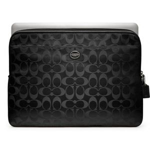 🆕️ Coach Signature Black Laptop Sleeve